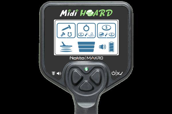 Midi Hoard Dedektör ayrım Ekranı